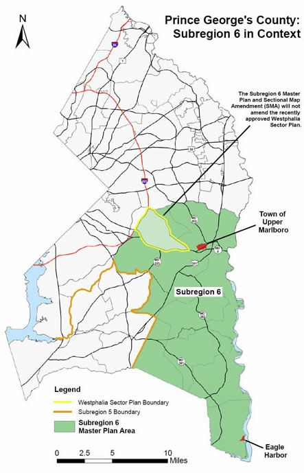 Subregion 6 Master Plan and Sectional Map Amendment