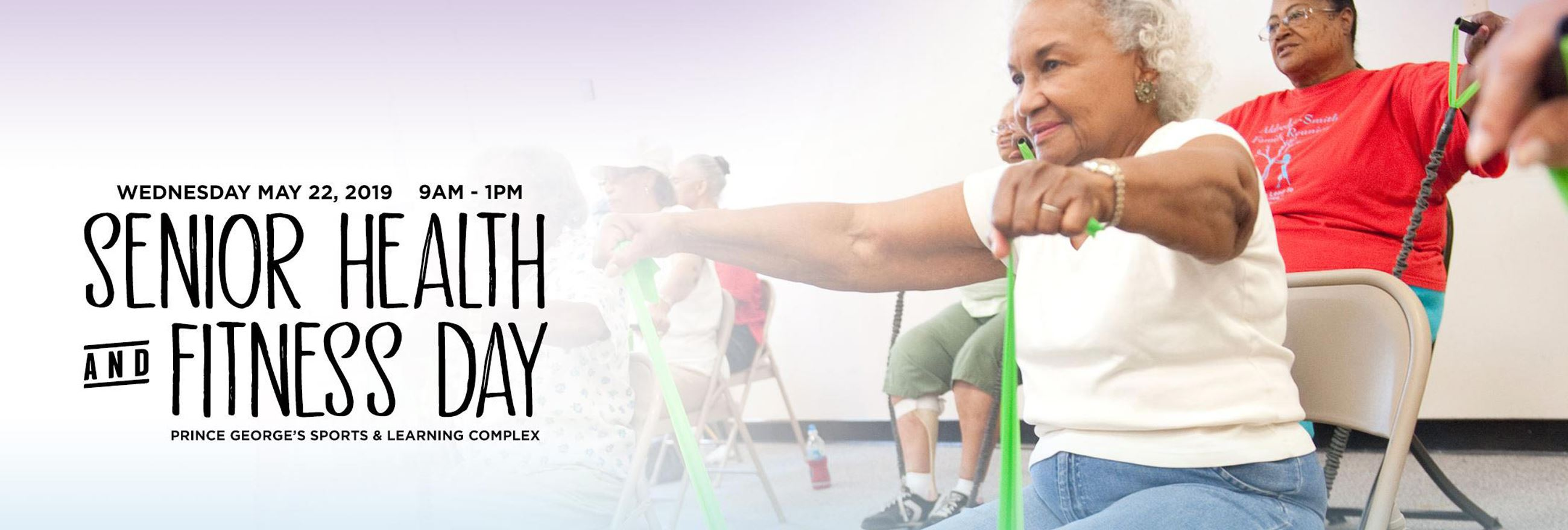 senior health and fitness day is Wednesday, May 22