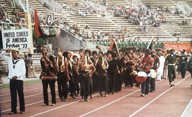 Closing Ceremony Lagos Nigeria photo Roy Lewis FESTAC US Delegation