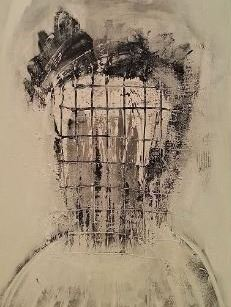 INCARCERATE painting by Wayson R Jones