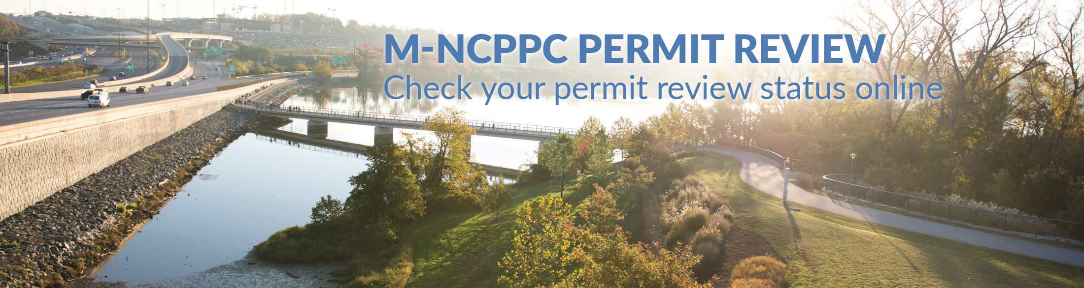 Track your permits online