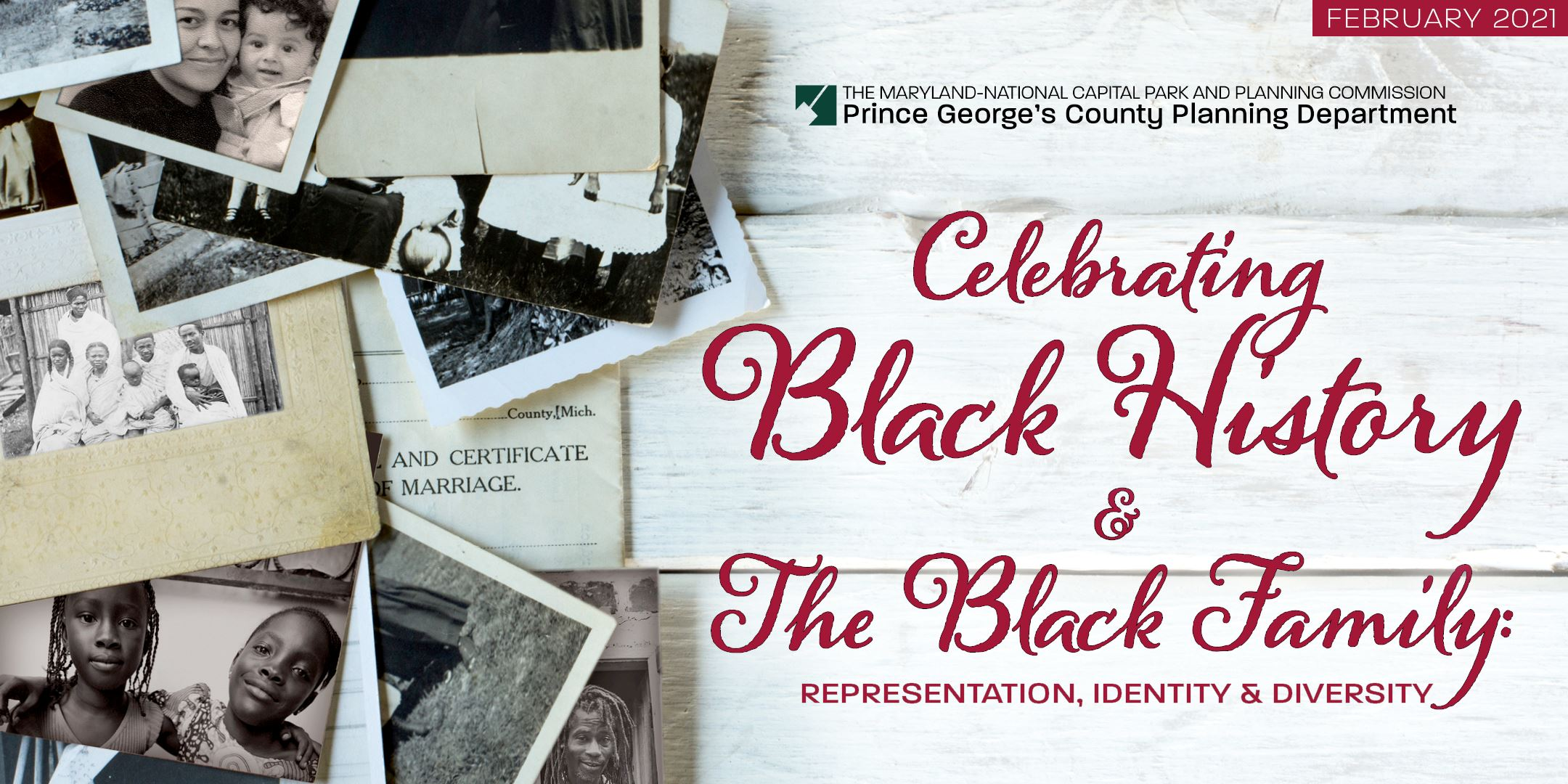 2021 Black History Month Celebration Prince George's Planning Department
