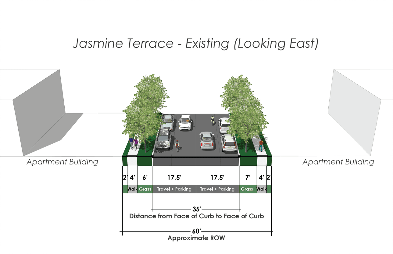 Jasmine Terrace Existing Conditions
