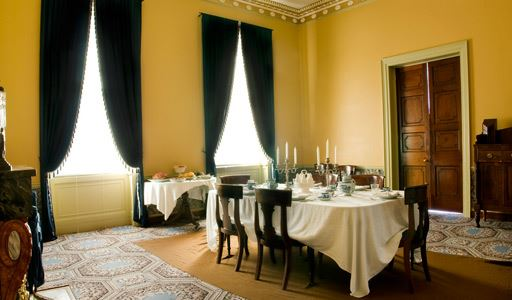 Riversdale House Museum Dining Area