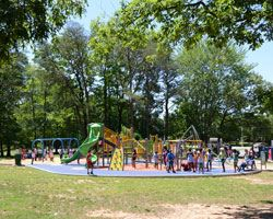 the playground area at glenarden theresa banks complect