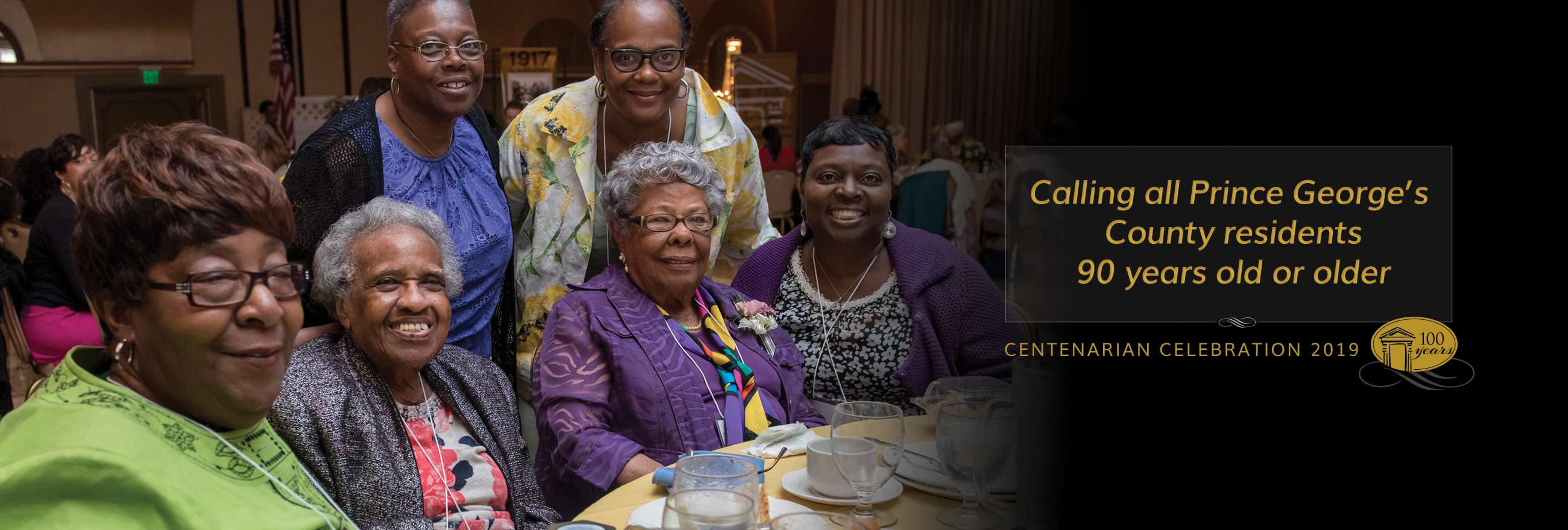 Calling all Prince George's County residents 90 years or older