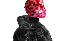 person Covered In Flower