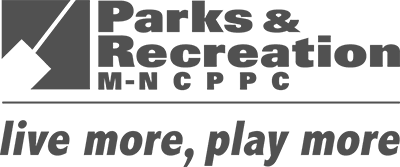 Department of Parks and Recreation Logo in Greyscale Opens in new window