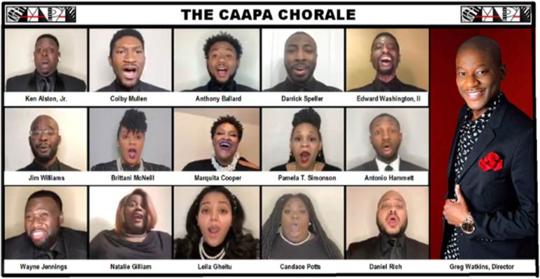 CAAPA Choir Image with all members