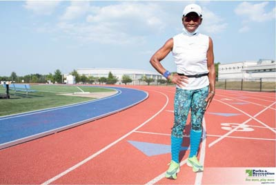 Highlighted contestant Rose Green from the Senior Olympics