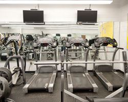 Stephen Decatur Fitness Room