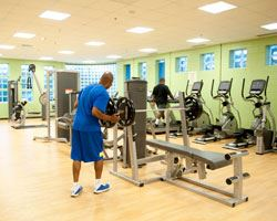 Hillcrest Heights Fitness Room