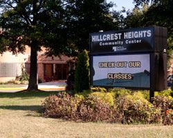 Hillcrest Heights Sign